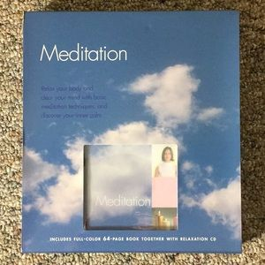 Meditation Book and Relaxation CD + Free Gift!